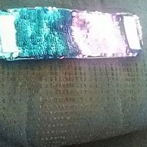 Mermaid Velcro bracelet brand in pic